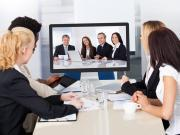 people in a video conference