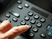 Dialing VoIP telephone keypad